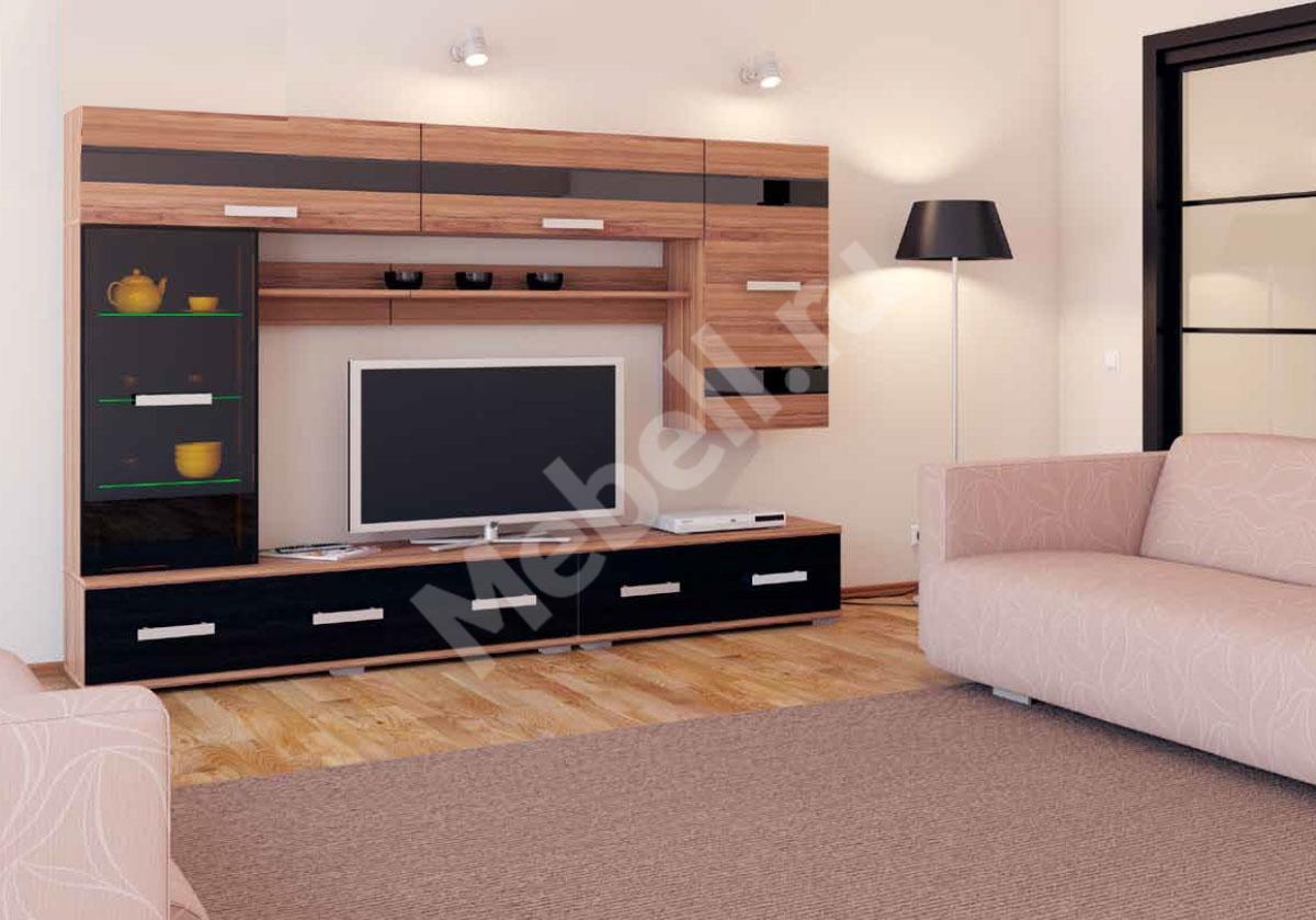 Модульные стенки для гостиной фото